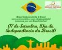 07 de Setembro - Dia da Independência do Brasil
