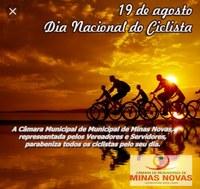19 de Agosto - Dia Nacional do Ciclista