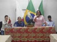 Formatura dos alunos do Curso de Informática do CAC (Centro de Atendimento ao Cidadão) da Câmara Municipal