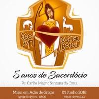 Homenagem da Câmara Municipal ao Padre Carlos Magno