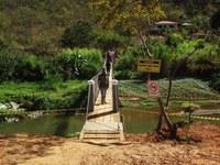 Inauguração da passarela sobre o Rio Fanado, na comunidade de Barra do Fanado