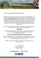 Informativo do IBGE - Instituto Brasileiro de Geografia e Estatística