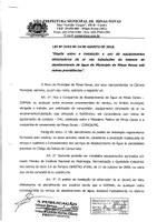Lei nº 2153 de 2018