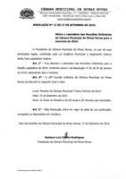 Resolução nº 12 de 2019