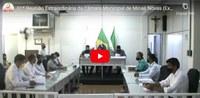 01ª Reunião Extraordinária da Câmara Municipal de Minas Novas (Exercício de 2021)